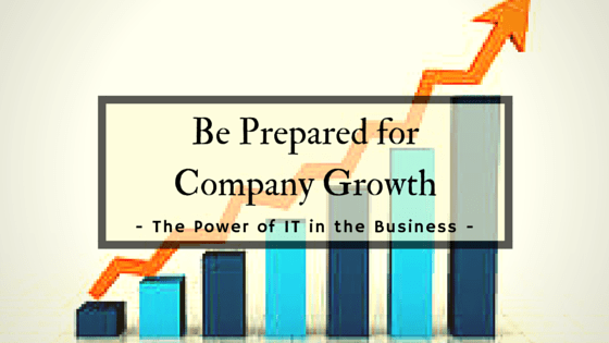 Be Prepared for Company Growth