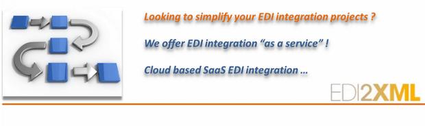 EDI integration as a service