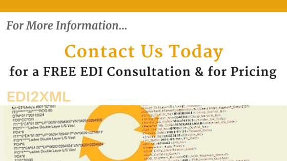 Contact us for a Free EDI Consultation and Pricing