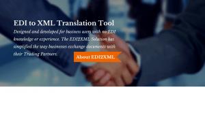 About EDI2XML Translation Tool
