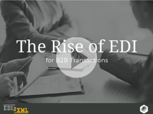 The Rise of EDI for B2B Transactions