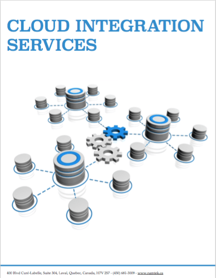 Brochure on our Cloud Integration and EDI as a Service offering