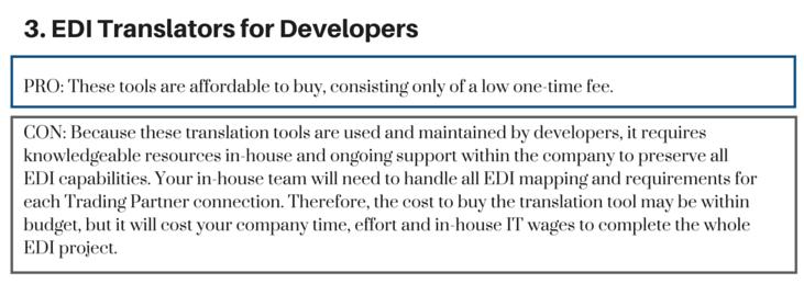 EDI Translators for Developers