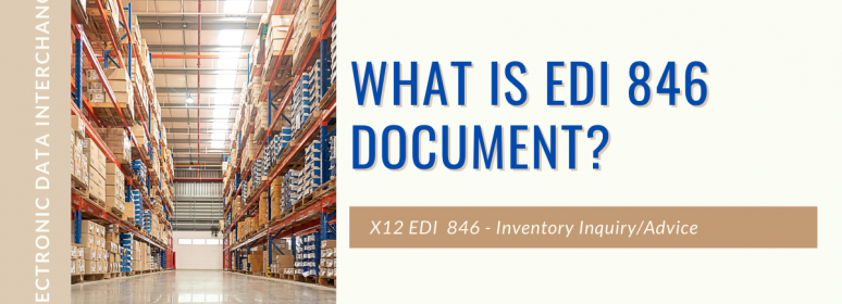 what is EDI 846