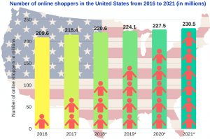 Online shoppers USA