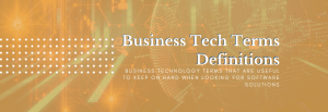 information technology definitions