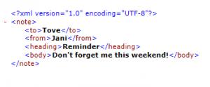 Simple-XML-example