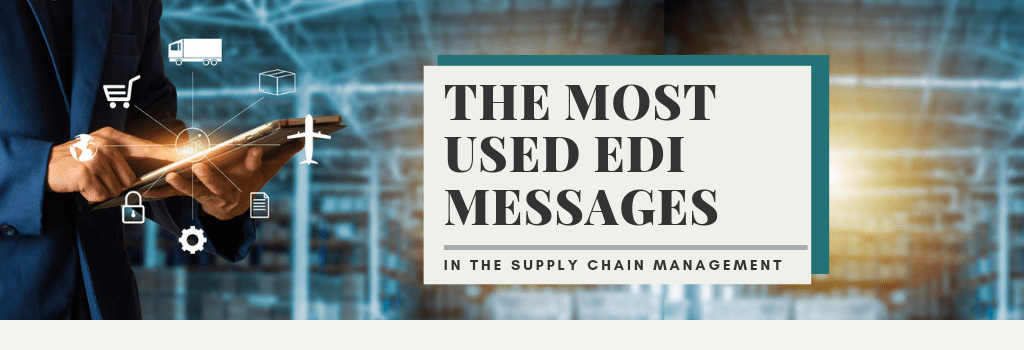EDI messages in the supply chain management