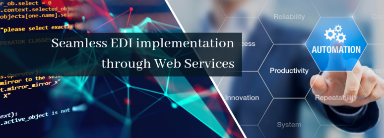 EDI implementation through Web Services
