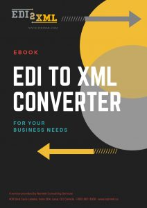 EDI to XML converter free e-book