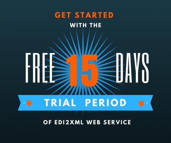 free edi web service trial