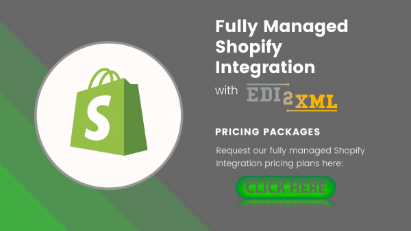 Shopify integration price list