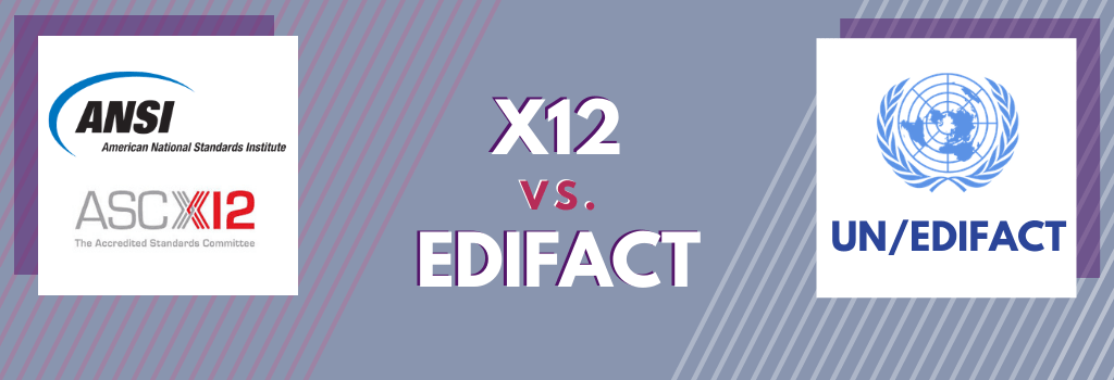 What Are the Differences Between ANSI X12 and EDIFACT