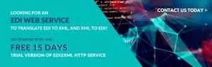 EDI web service free 15 days