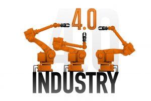 4.0 Smart industry concept.