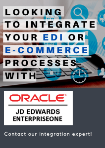 JDE integration with EDI