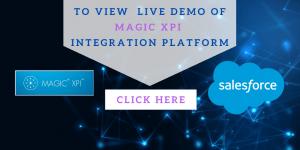 Salesforce custom objects using Magic xpi