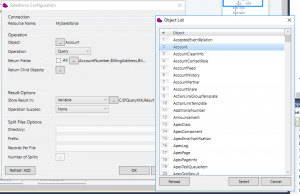 Integration with Salesforce custom objects using Magic xpi
