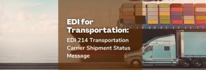 EDI for transportation