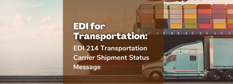 EDI for transportation