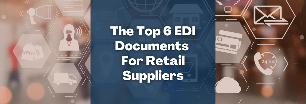 EDI for suppliers in retail