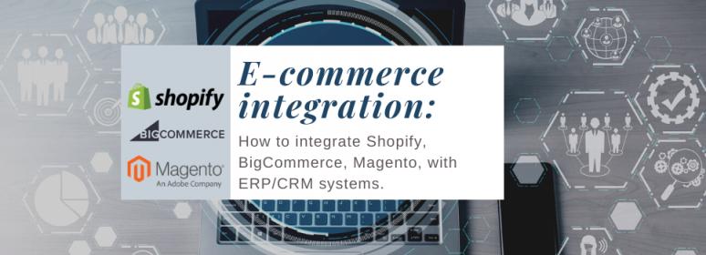 ERP/CRM e-commerce Integration