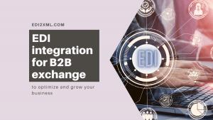 B2B communication via EDI